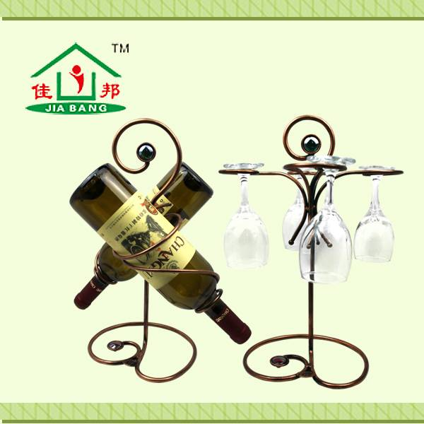 Romantic Meaning Red Wine Rack
