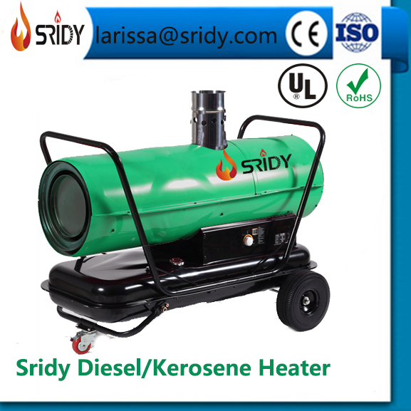 SRIDY industrila heater large oil-filled burn heater indirect diesel heating exchange