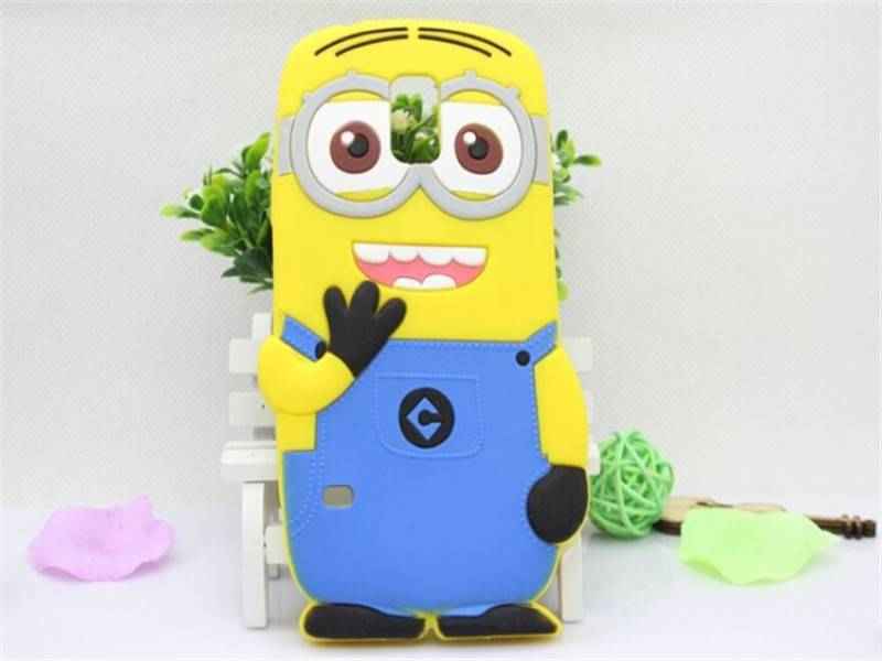 silicone mobile phone vest shape cover
