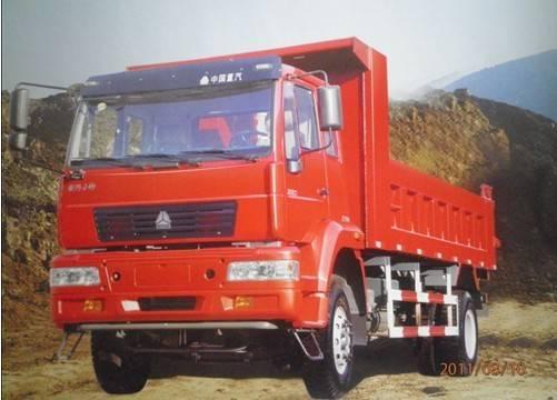 Sinotruck Huanghe 4x2 Dump Truck