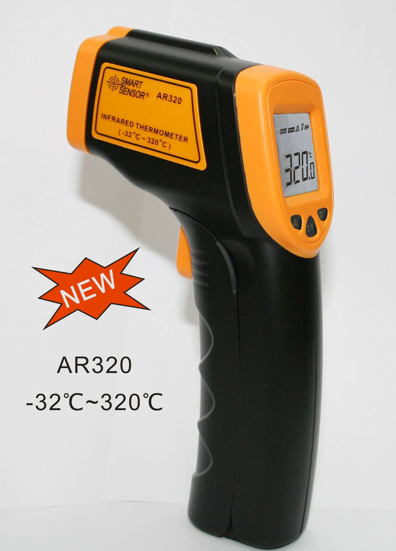 Smart Sensor IR Thermometer AR320