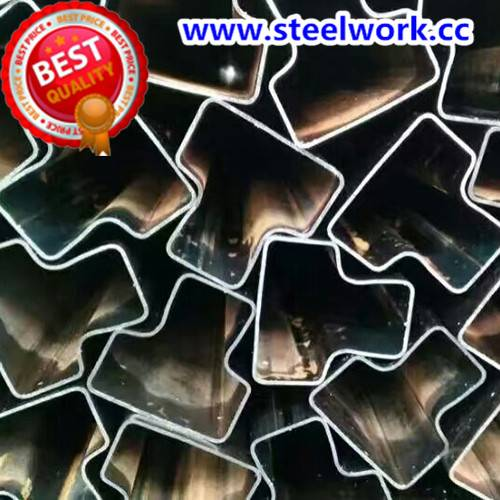 Customized ERW Galvanized/ Annealing Special Shape Steel Tube
