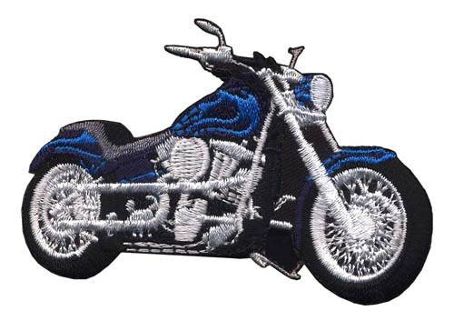 Motorcyle Embroidery Patches