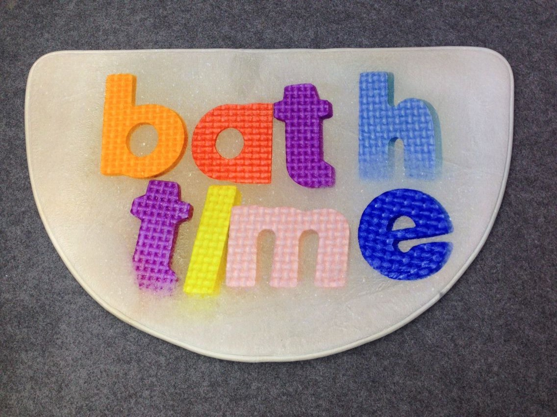 digital printing bath mat