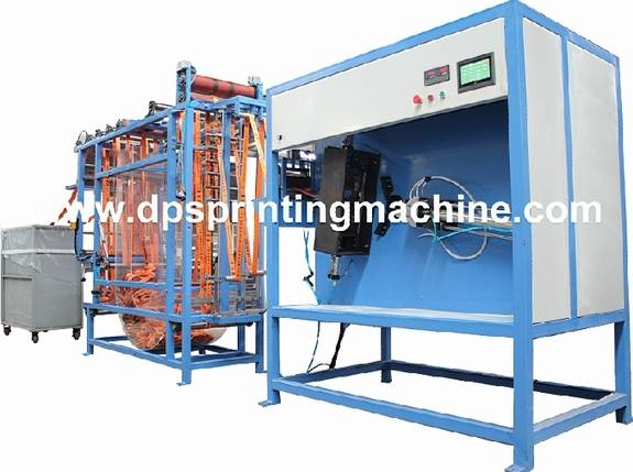 Heavy Duty Webbings Automatic Cutting and Winding Machine with Ce