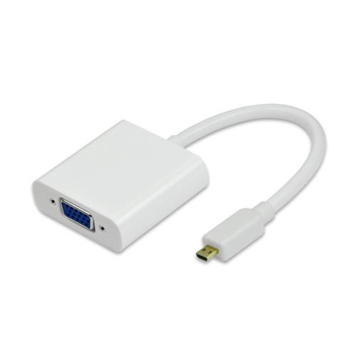 HDMI D to VGA Adapter Cable
