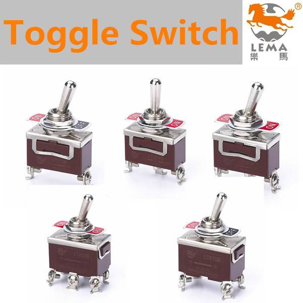 Lema different kinds of toggle switches