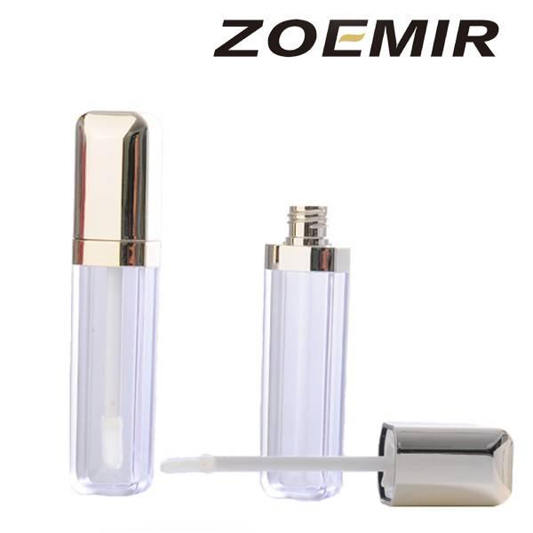 Transparent lipstick/lipgloss tube /made your own  logo lipgloss tube