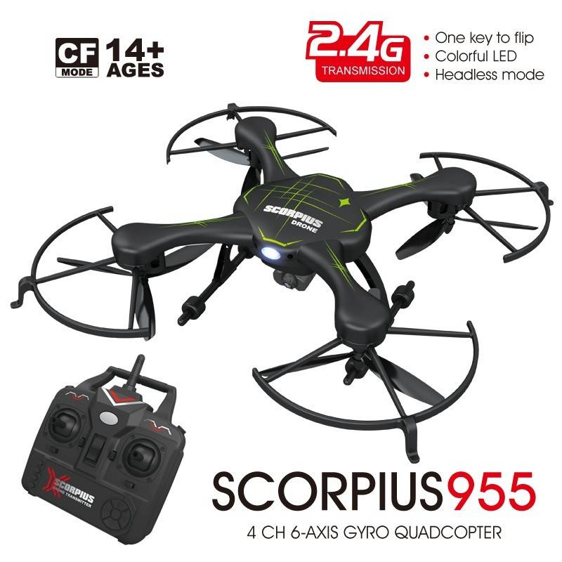 BBM- SCORPIUS RC Quadcopter Headless mode 1280*720 720P Camera 2.4G 6AXIS GYRO