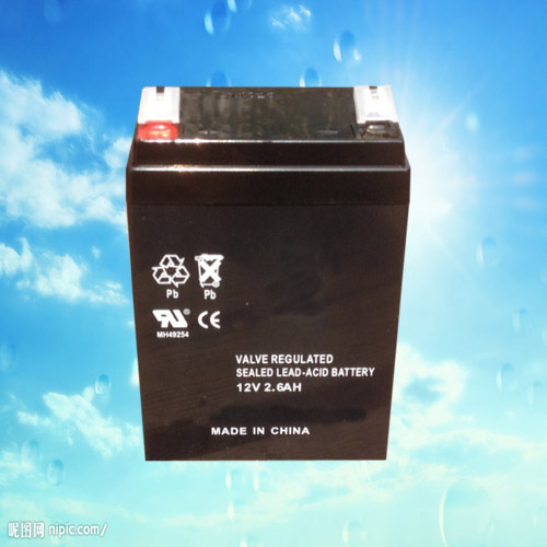 NP1226 12V2.6AH sealed lead acid storage battery