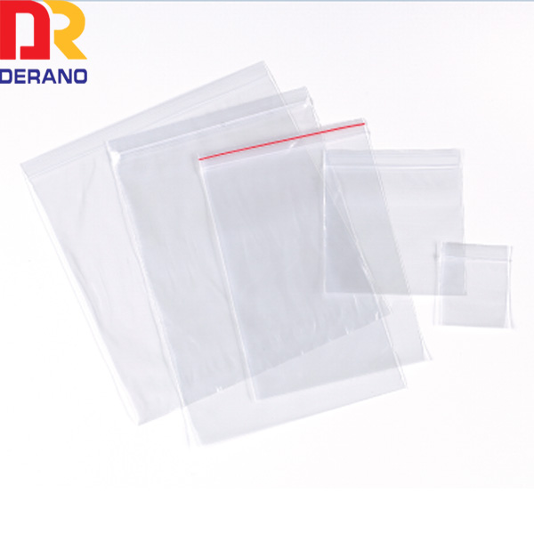 ldpe plastic top zip printing storage ziplock bag/zipper bag
