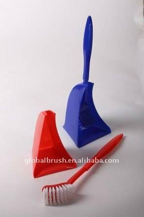 HQ1863 Home Colorful Plastic hand Toilet Tidy Brush Set Budget/Toilet Brush & Holder