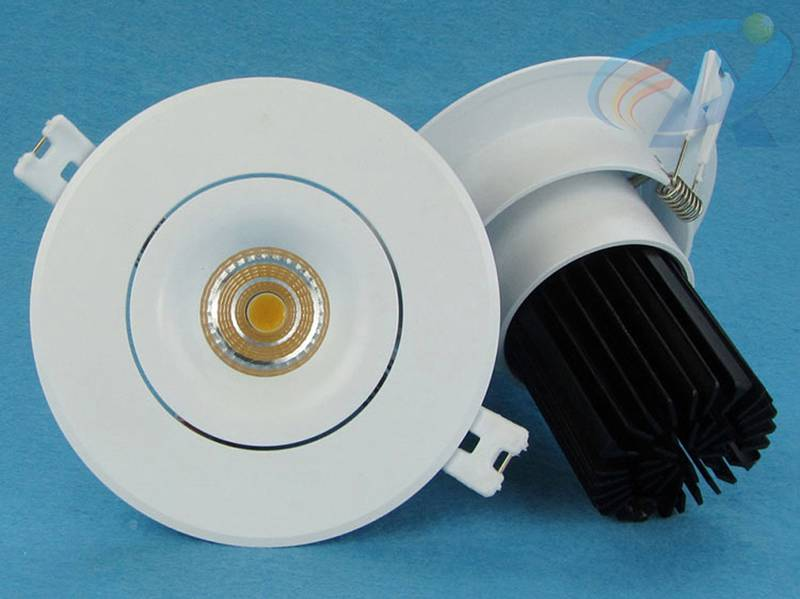 8-12W Cold Forging Aluminum Radiator COB LED Ceiling Light