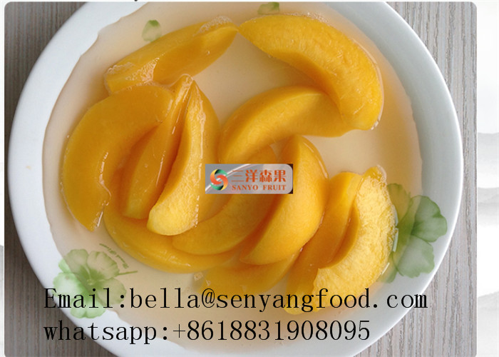 canned yellow peach in light syrup Price Canned yellow peach 2500g 410g