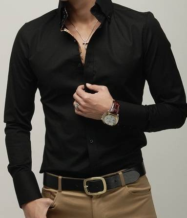 2016 the latest style casual shirts for men
