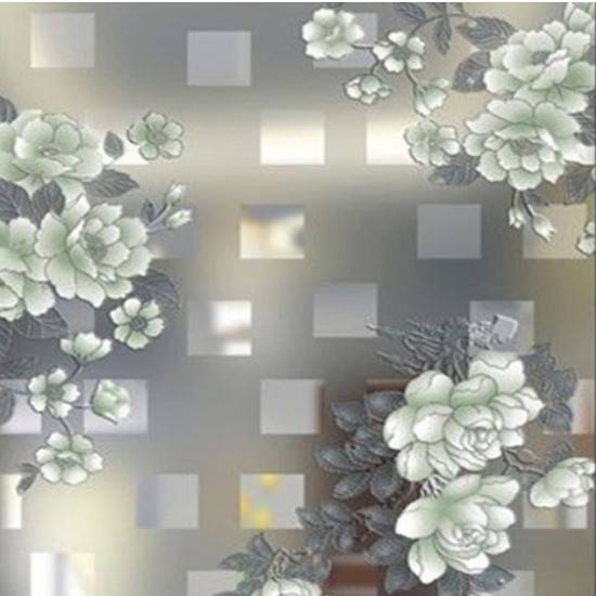 New Design Patterned Glass