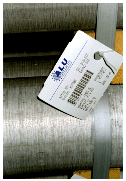 Extreme heat label for High Temperature Environment
