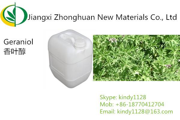 Super high quality Synthetic Geraniol (2E)-3,7-Dimethyl-2,6-octadien-1-ol CAS#106-24-1