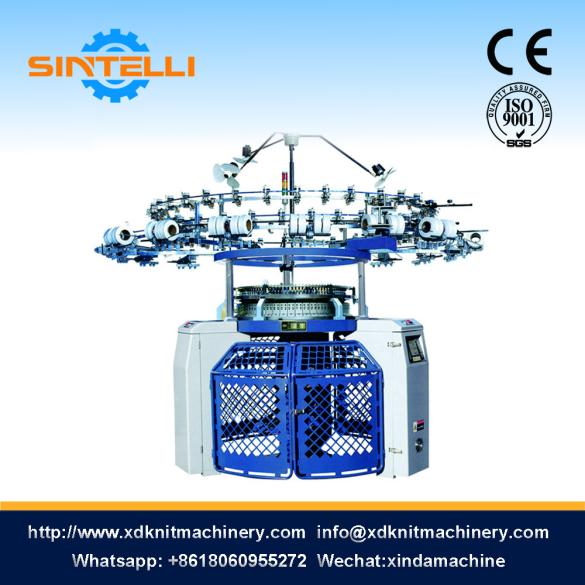 Single Reverse Plated Loop (Velour) Circular Knitting Machine