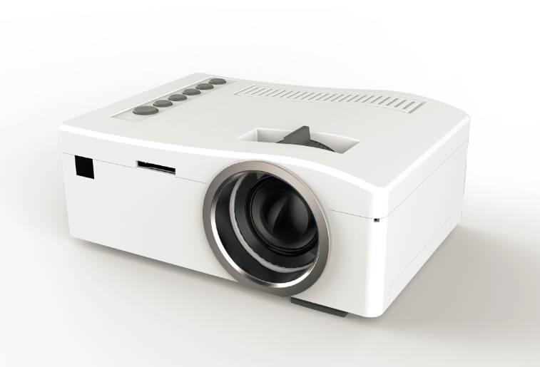 UNIC UC18 Mini pocket projectors with AV/USB/SD/VGA/HDMI micro USB, mobile power supply