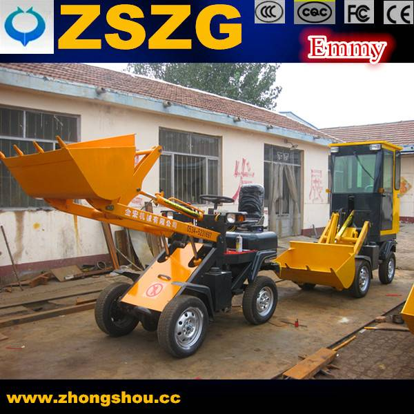 Hot Sell ZSZG Mini  Electric Loader for Sale