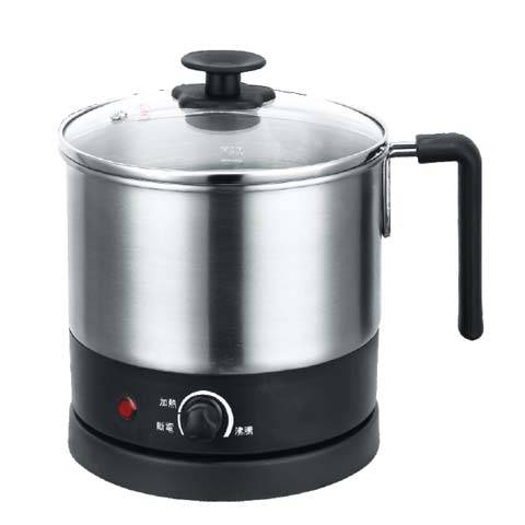 1.2L power 800W stainless steel electric jug kettle / Multi-Cooker