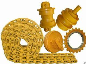 Undercarriage Parts for Komatsu Excavators