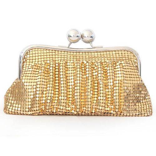 Aluminum Sheet Evening Handbags/ Clutches More Colors Available