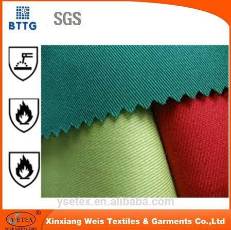 21*21 pure cotton fire retardant fabric