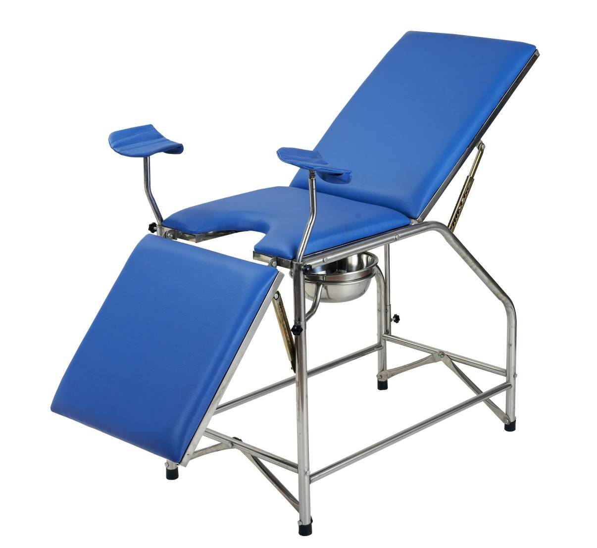 Hospital beds Stainless Steel Gynecology Examination Bed