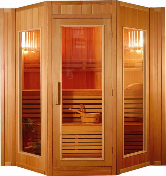 Luxury Traditional Steam Sauna