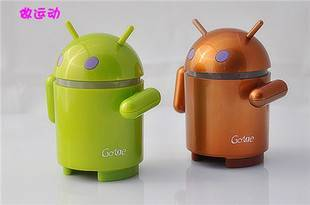 New Mini Android Robot Speaker For Laptop/MP3 Player