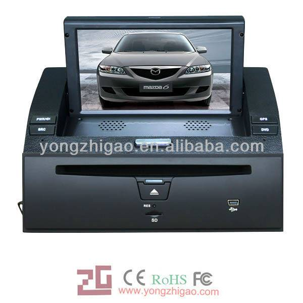 """8"""" HD touch screen old Mazda 6(2003-2008) indash media"""