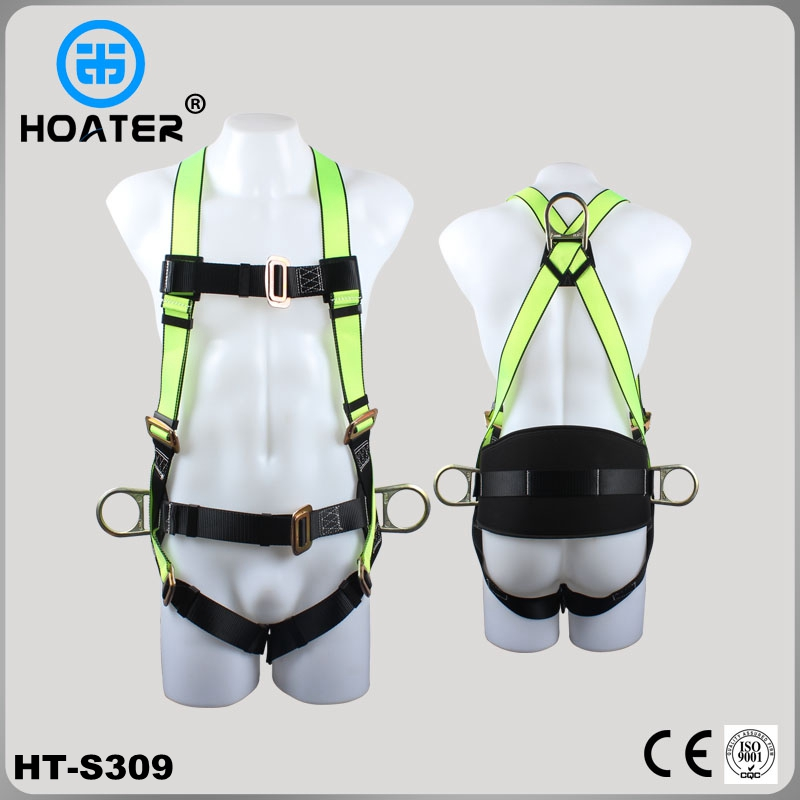 Full body safety belt harness