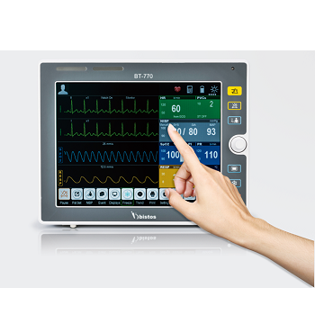 Medical Emergency Equipment, Patient Monitor w/touch screen BT-770