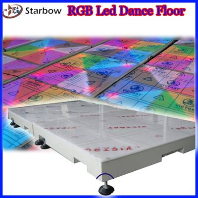 RGB color-changing LED Dance Floor Light
