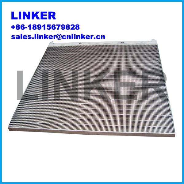 wedge wire screen panel