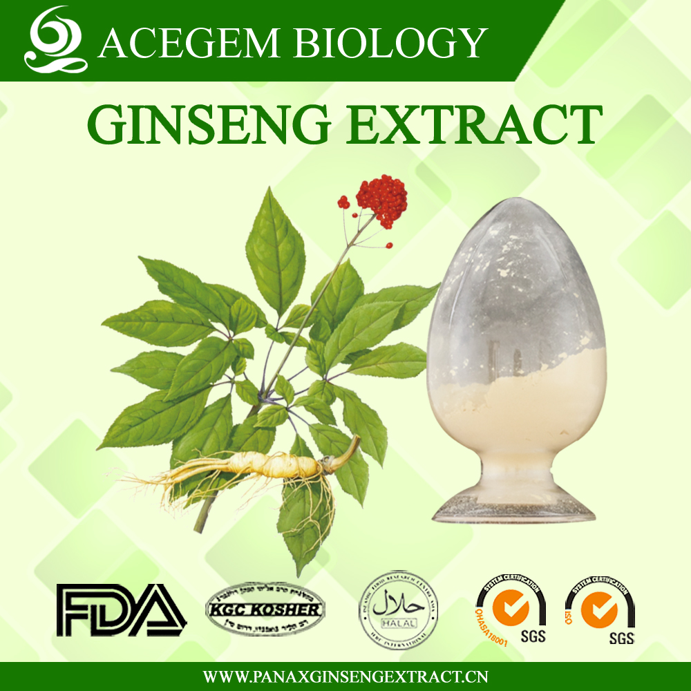USP38 Standard Ginseng,Ginsenosides 1%-20% HPLC For Dietary Supplement