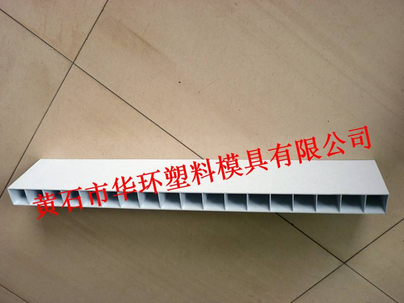 PVC hollow plate mold products 1