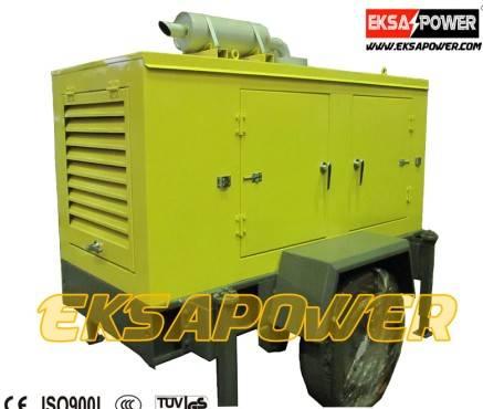50kva Trailer generator sets