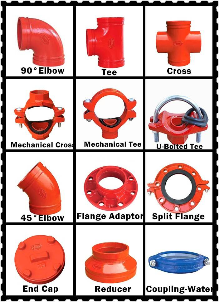 Big Manufacturer for FM/UL/CE/3C Approved Ductile Iron Rigid Coupling