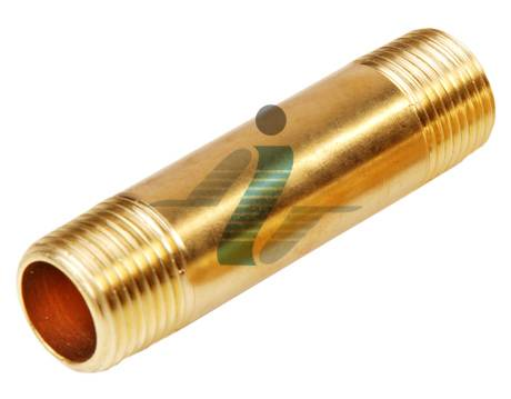 Brass Long Nipple