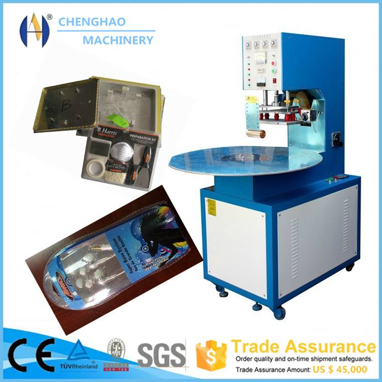 Blister packing machine for LED lamp/Memory Card