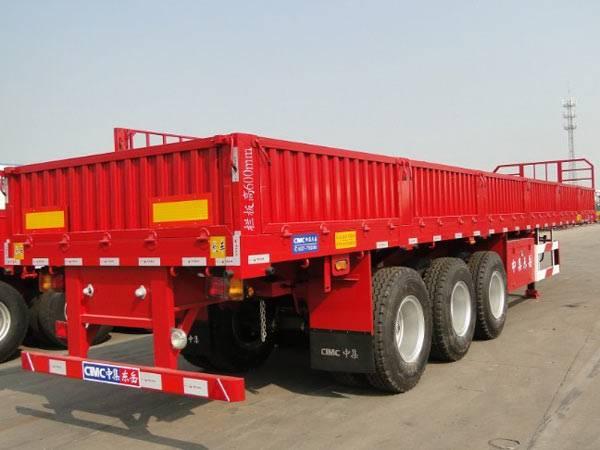3 axles cargo semi-trailer 50-60t