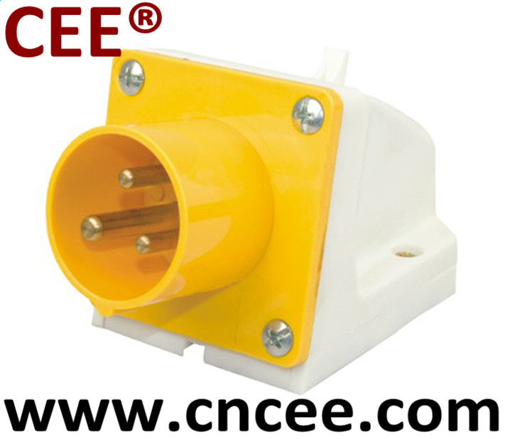 CEE industrial plug male plug Wall Mounted
