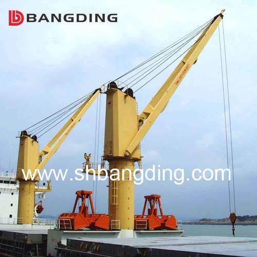 Hydraulic Electric Marine Deck Crane/ShipCrane