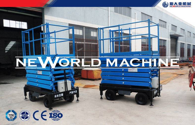 Warehouse Factory Home Mobile Hydraulic Lift Platform / Hydraulic Lift Table