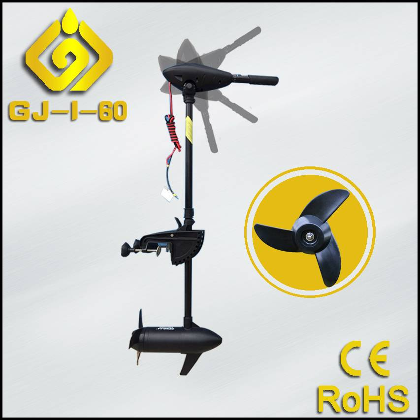 Brushless Big Propulsion Electric Outboard Motor