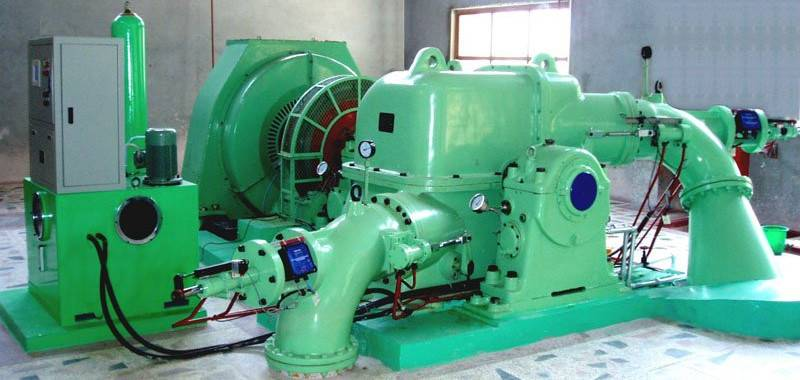 High Efficiency Water Turbine/ Inclined-jet Turbine for Hydroelectric Power Plant