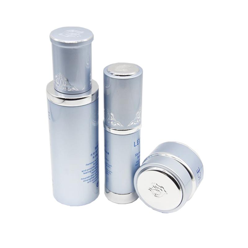 30ml 60ml 100ml aluminum lotion bottle cosmetic bottle